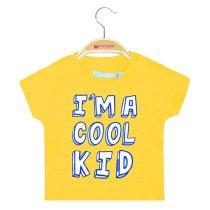 Maglietta per neonato puro cotone con stampa Cool Kids