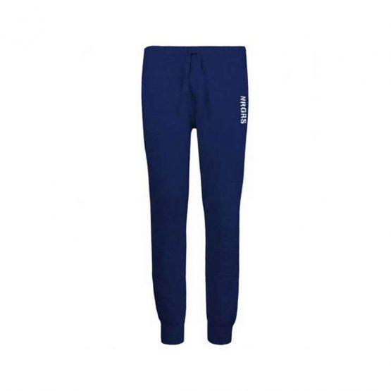 Pantaloni jersey bambino sportivi in cotone con elastico