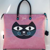 Borsa Shopping piatta trasformabile G3 PLUS in PU e pelle – Gatto
