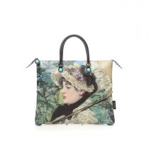 Borsa Shopping piatta trasformabile G3 PLUS in PU e pelle – EDOUARD MANET