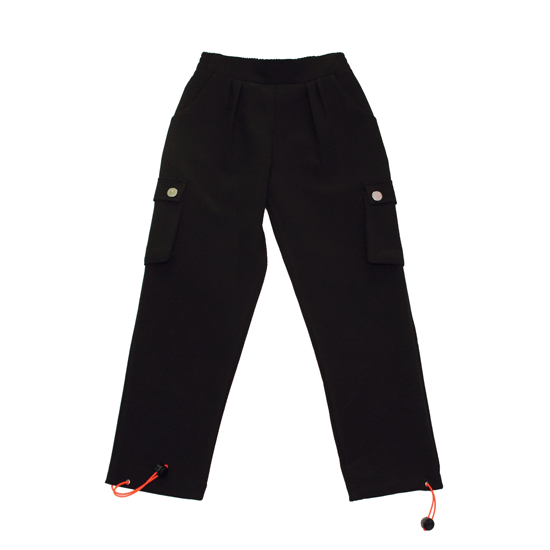 Pantaloni bambina stile Cargo