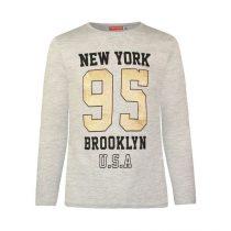 """Maglia con stampa """"New York 95"""""""