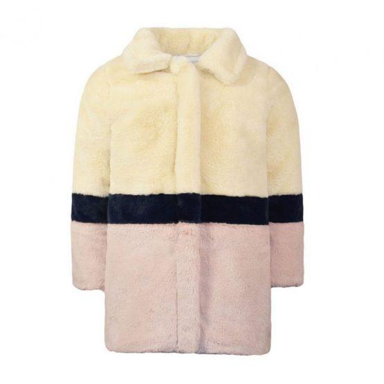 Cappotto in eco-pelliccia