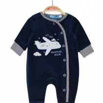 Tutina neonato con aeroplanino