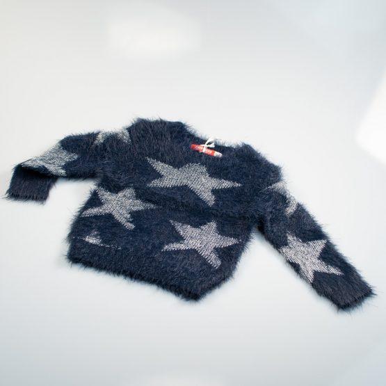 Maglione soffice con stelle